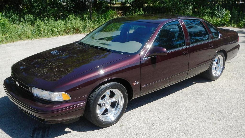 1996 Impala SS One Owner 16,000 miles - The Supercar Registry