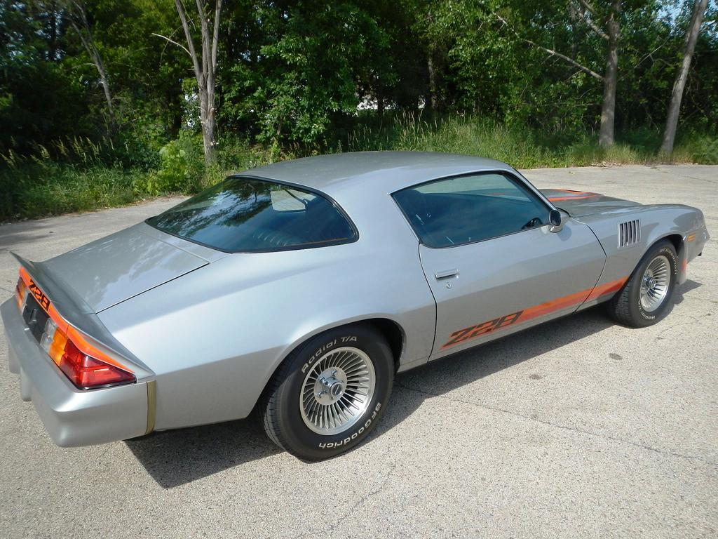 1979 Chevrolet Camaro Z28 Original & Unrestored - The Supercar ...