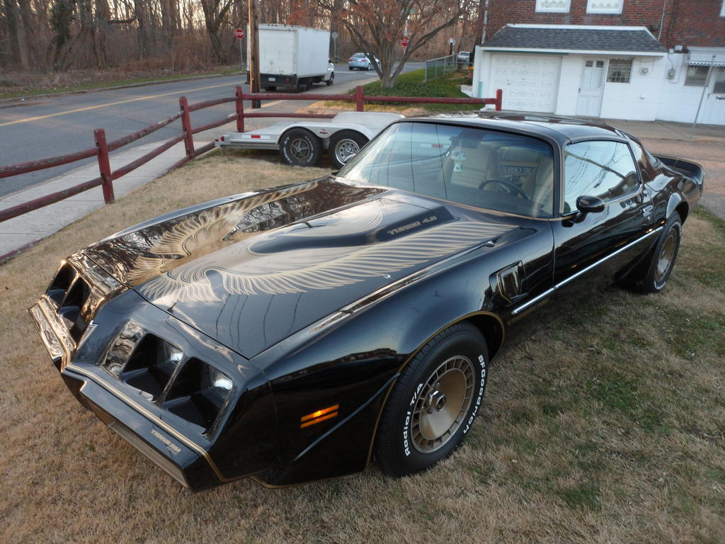 1981 y84 special edition bandit car all original with 35 000 original miles 4 9 turbo car every option with books and original buildsheet