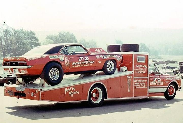 Vintage Drag Car Haulers Or Tow Rigs The Supercar Registry