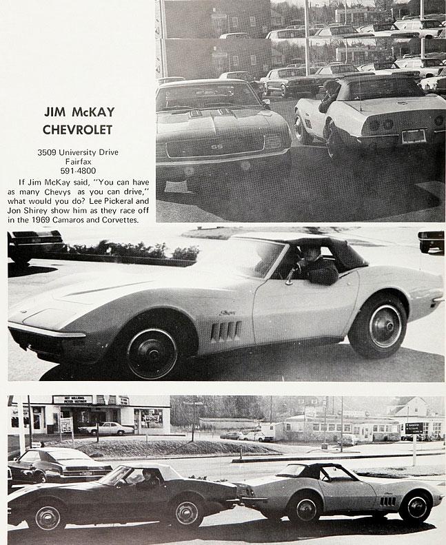 Jim Mckay Chevrolet The Supercar Registry