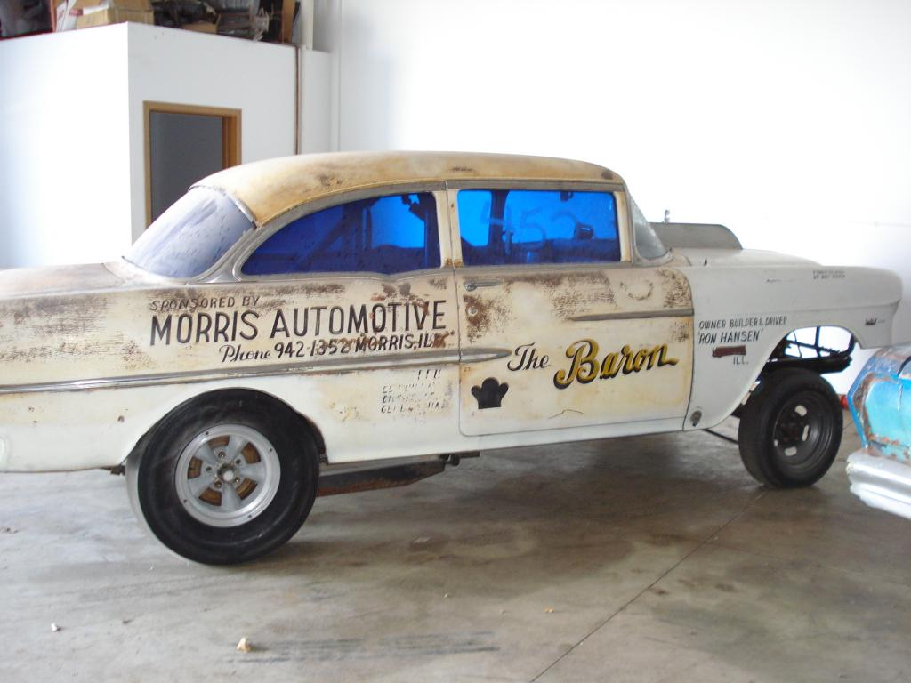 1955 Chevy gasser, as found - The Supercar Registry