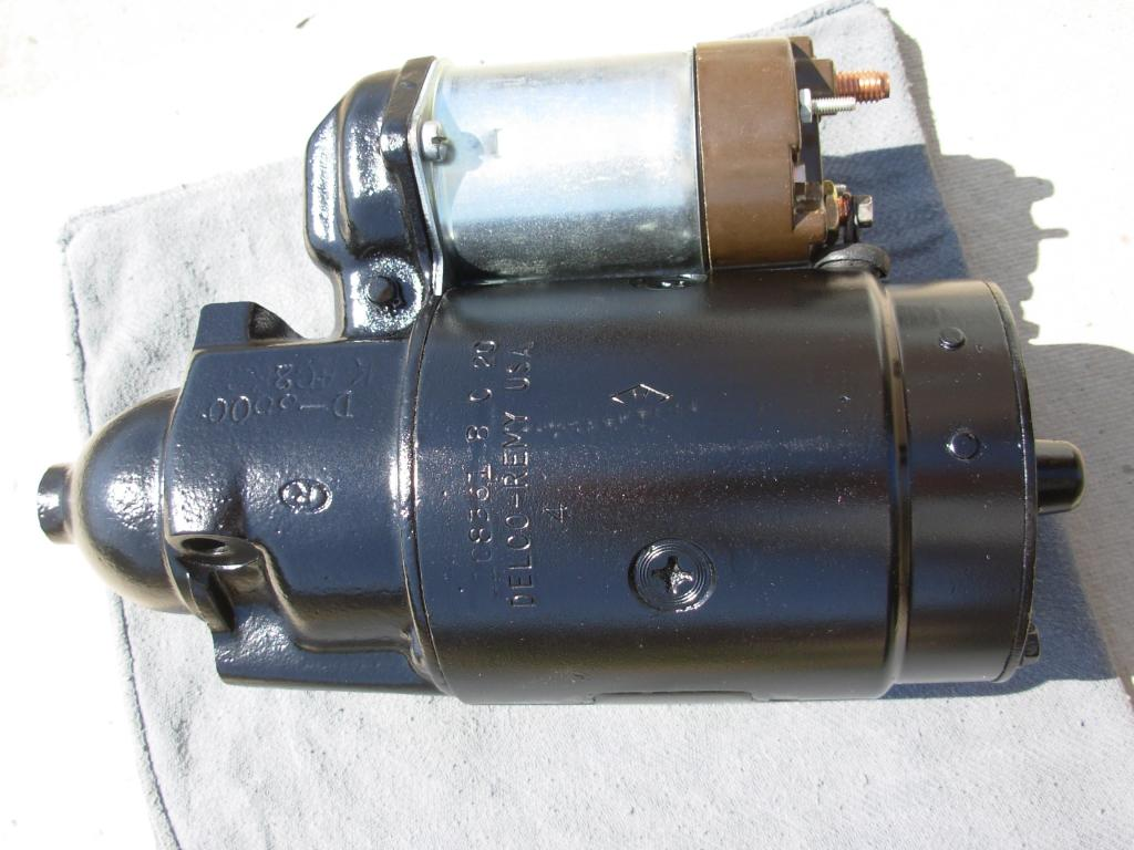 1108361 Delco Remy Starter Motor The Supercar Registry