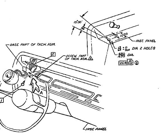 66 Chevelle Tach Wiring Diagram