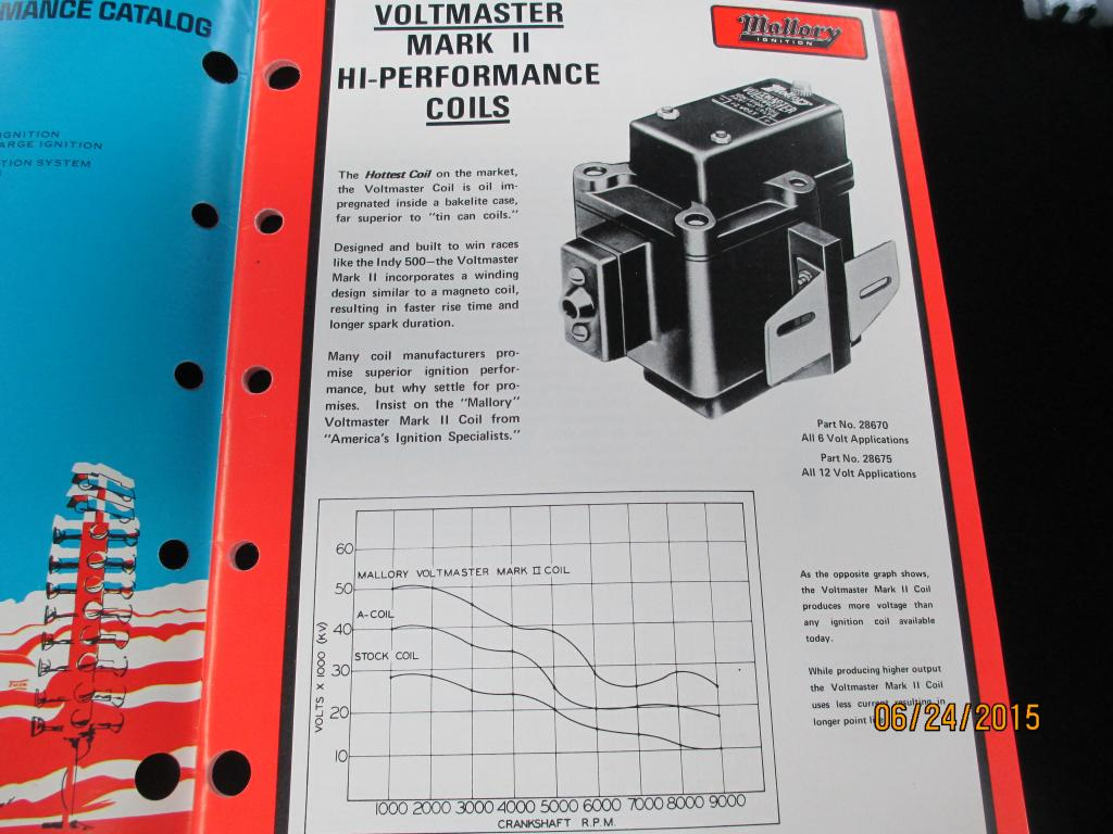 Re: Mallory Ramcharger wires
