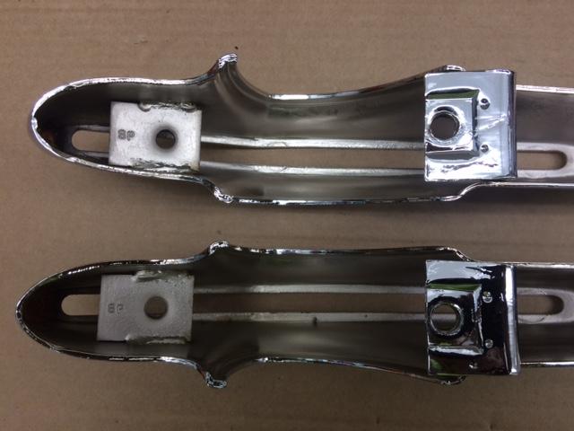 Camaro Bumper Guard : Camaro bumper guard set re chromed the