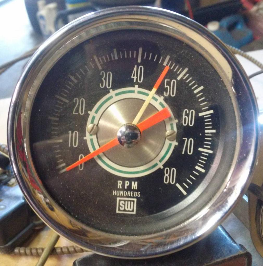 Stewart Warner Tachometer Sender Schematic Electrical Diagram Rpm Tach Wiring Yenko Circuit And Power Steering 970b