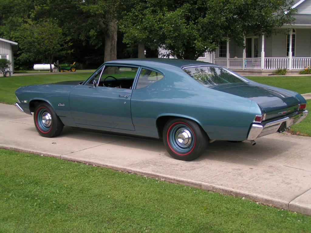 1968 Chevelle 300 L79 The Supercar Registry